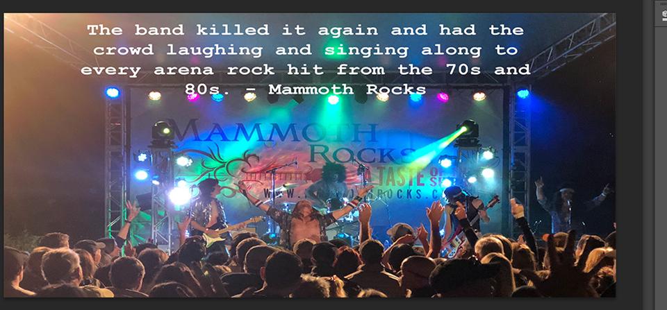 Mammoth Rocks